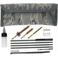 Gun Cleaning Kit for 9mm & M4/M16, MOLLE, Hook & Loop, ABU