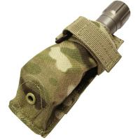 Flashlight Pouch (most mini's will fit), Multicam